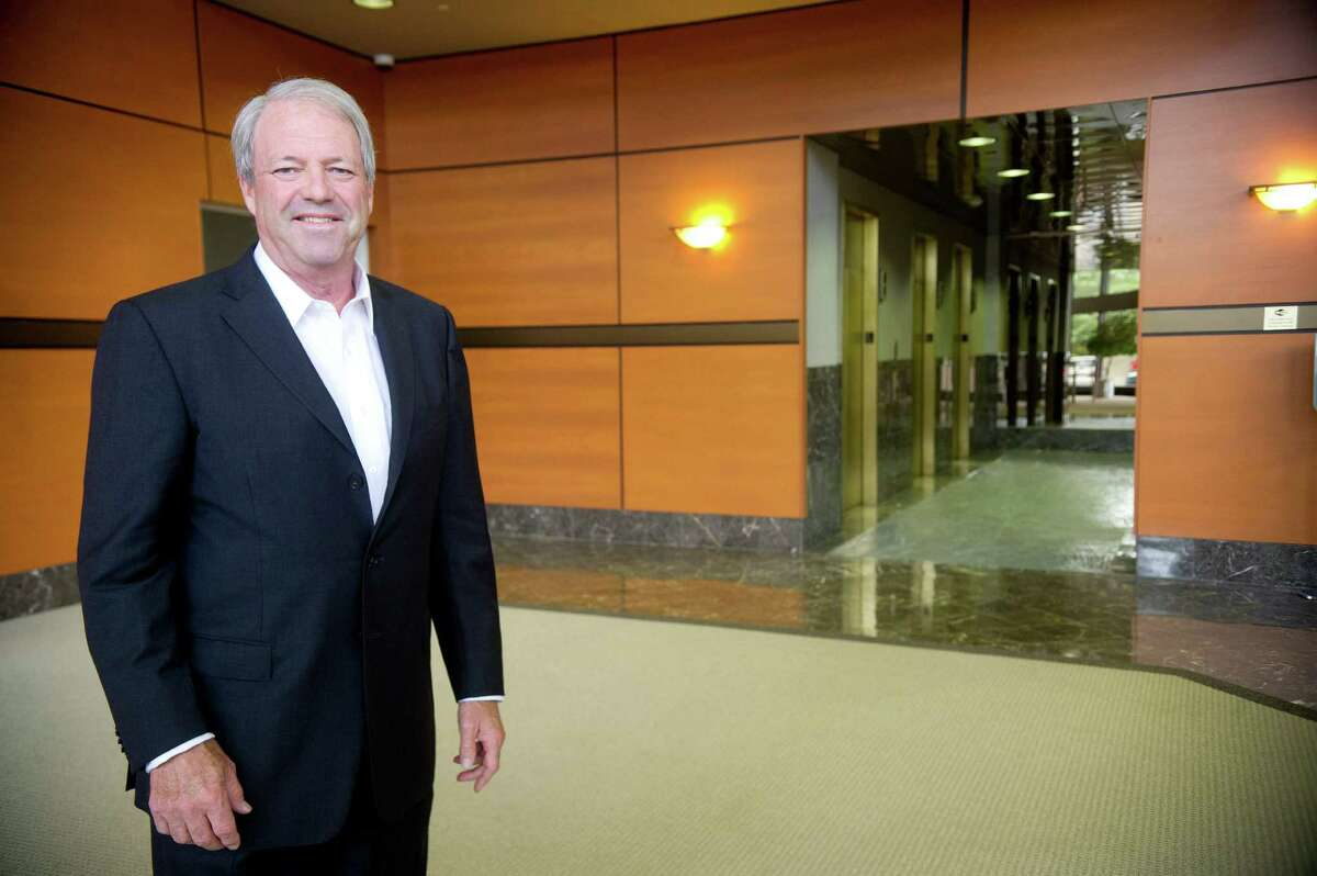 Steve Rice, Regional Director for the Davis Companies, poses for a photo in the company's recently purchased office building at 40 Richards Ave. in Norwalk, Conn., on Wednesday, July 24, 2013.