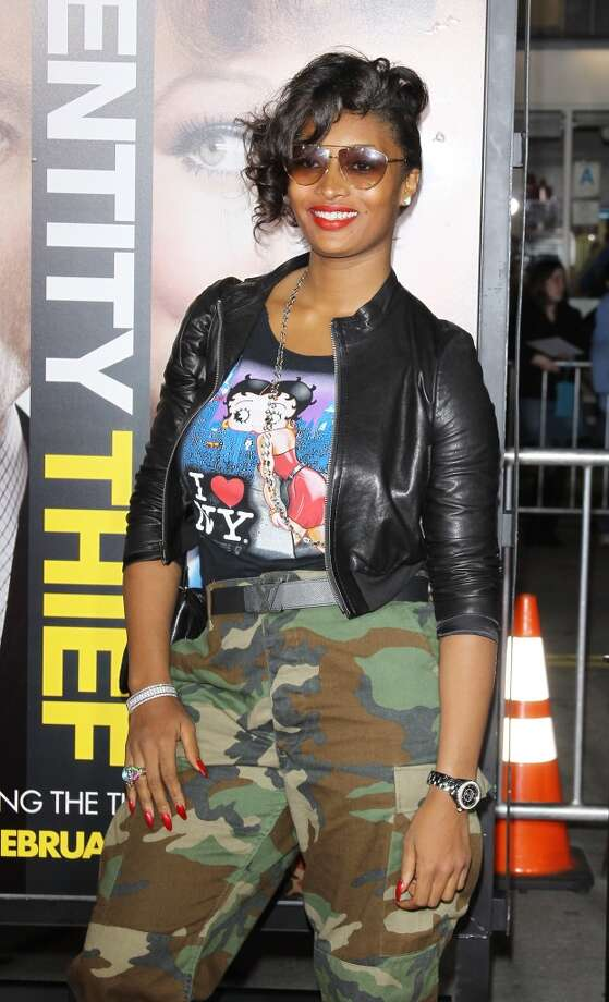 "Toccara Jones arrives at the Los Angeles premiere of ""Identity Thief,"" February 2013 Photo: Michael Tran, FilmMagic"