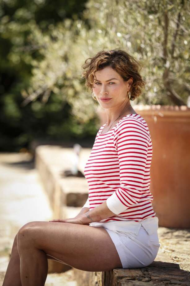 Model Carre Otis is seen at her Sebastopol, California home, July  2012. Photo: Russell Yip, The Chronicle
