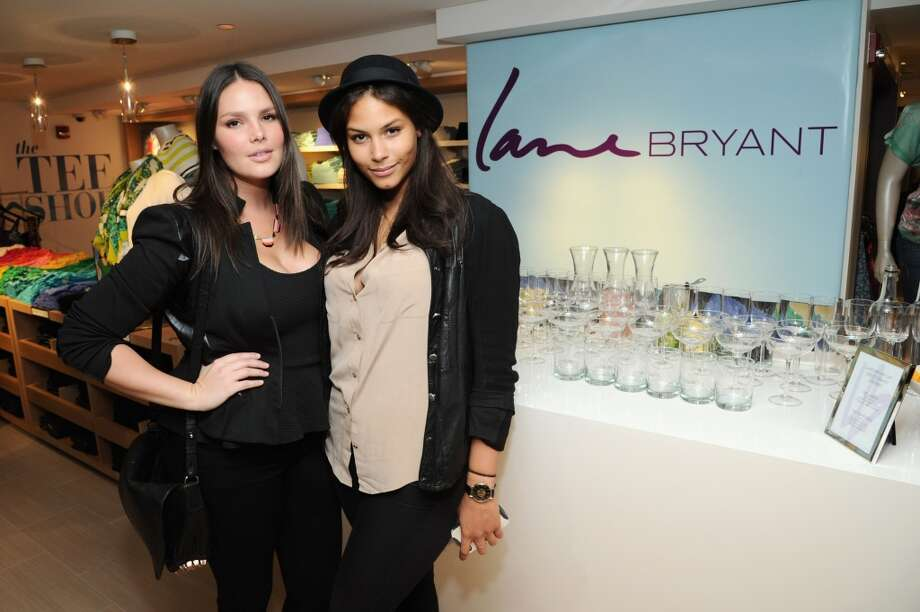 Candice Huffine and Marquita Pring attend Carnie Wilson & Jay Manuel Celebrate Lane Bryant's Flagship in New York City, February 2013 Photo: Ilya S. Savenok