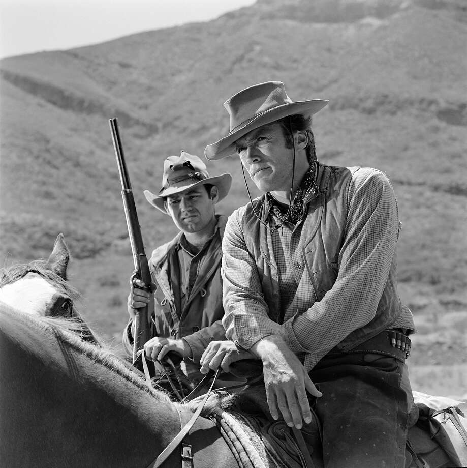 "Clint EastwoodFrom ""Rawhide"" to a slew of spaghetti westerns to ""Unforgiven,"" Eastwood is the ultimate Hollywood cowboy. Photo: CBS Photo Archive, CBS Via Getty Images / 1961 CBS Photo Archive"