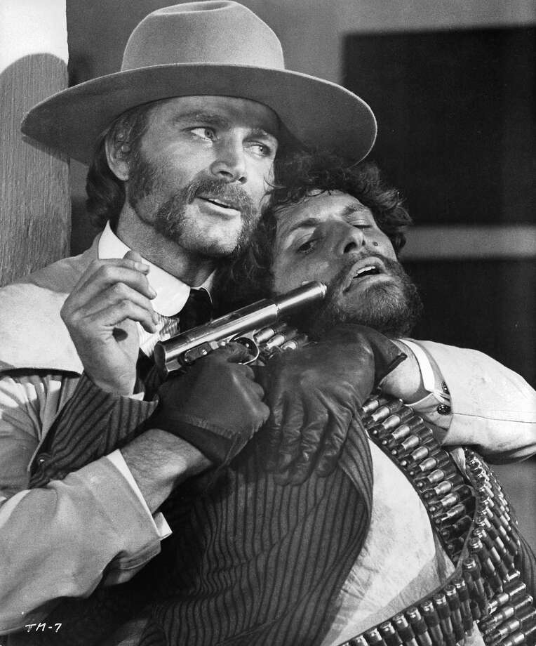 Franco NeroNero was one of the biggest of the Italians to star in spaghetti westerns, and he did a good job, despite his pretty face. Photo: Archive Photos, Getty Images / 2012 Getty Images