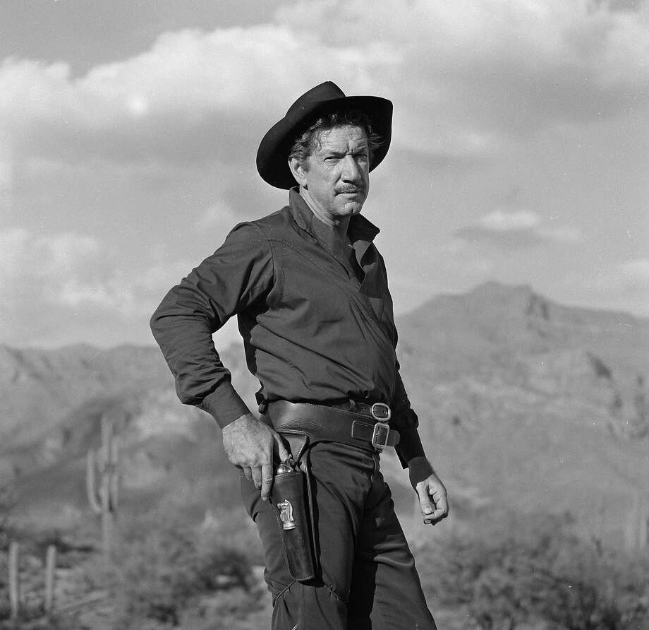"""Richard BooneAs Paladin in """"Have Gun — Will Travel"""" Boone was a gentleman who would win an enemy over with his words — and if that didn't work, he'd air 'em out with his Colt .45. Photo: CBS Photo Archive, Getty Images / 2009 CBS WORLDWIDE INC."""