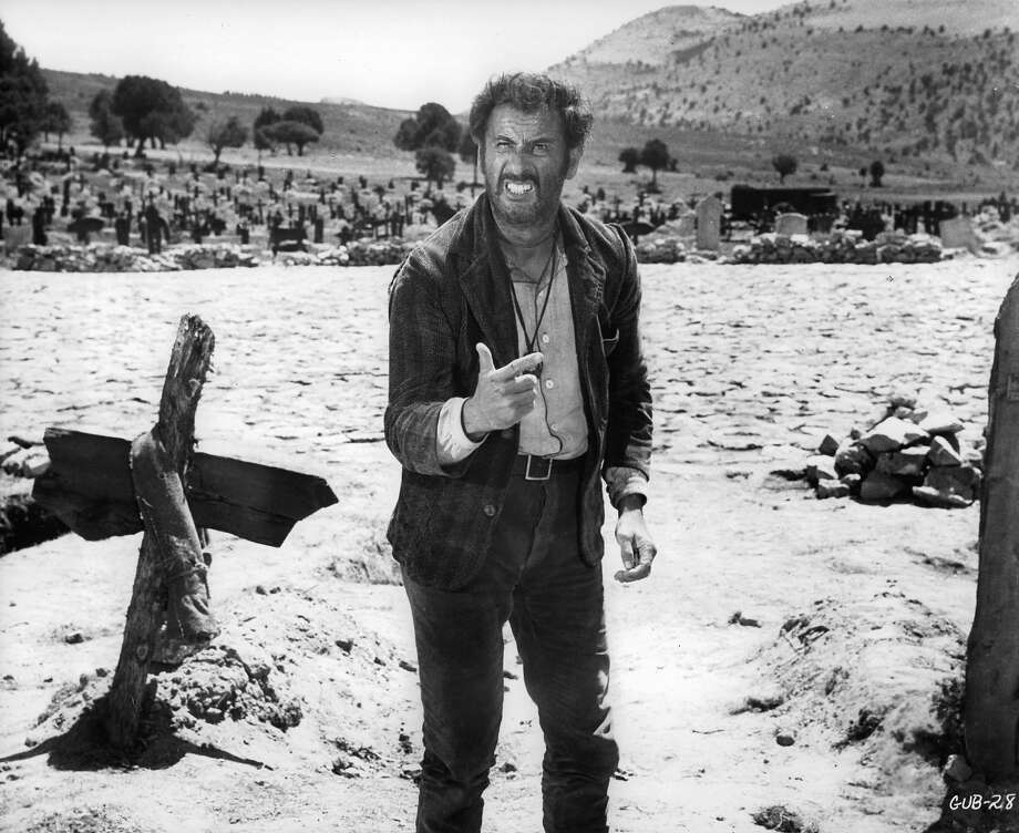 "Eli WallachWallach was in pretty much everything, but as Tuco in ""The Good, The Bad and the Ugly,"" he was downright badass. Photo: Michael Ochs Archives, Getty Images / 2011 Getty Images"