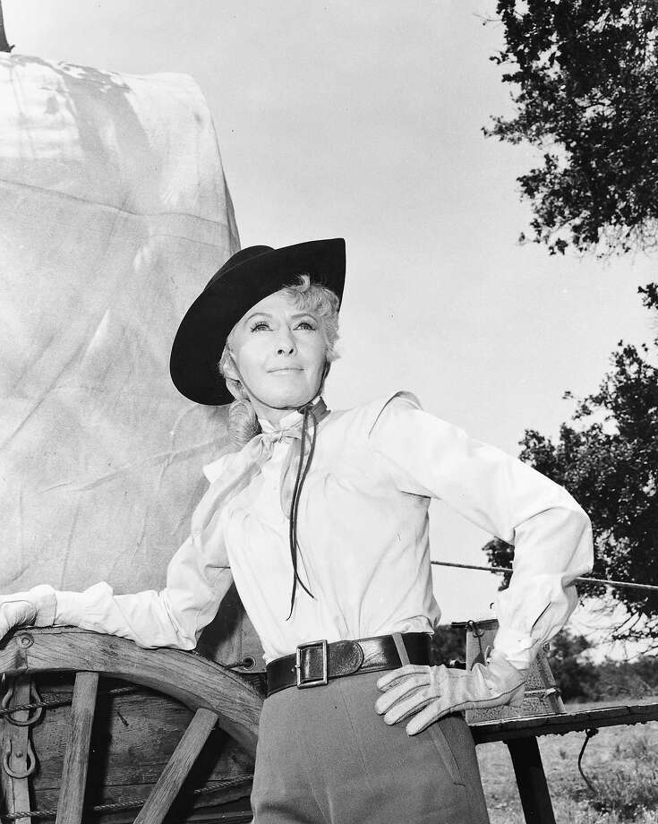 "Barbara StanwyckWhile not technically a cowboy, Stanwyck was a force to be reckoned with in ""The Big Valley."" Photo: ABC Photo Archives, ABC Via Getty Images / American Broadcasting Companies, Inc."