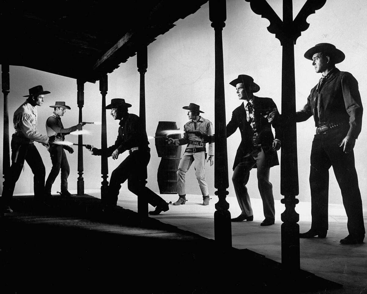 Here are some of the most iconic wranglers, rustlers and gunfighters in Hollywood history.