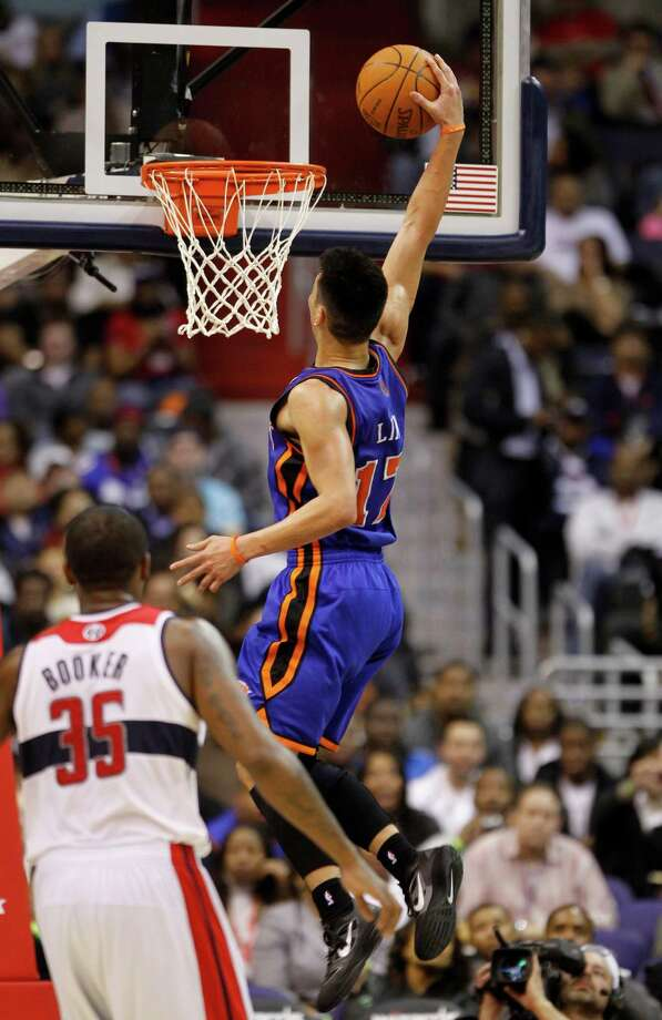 Feb. 8: Knicks 107, Wizards 93  23 points, 10 assists  First NBA dunk Photo: Haraz N. Ghanbari, Associated Press