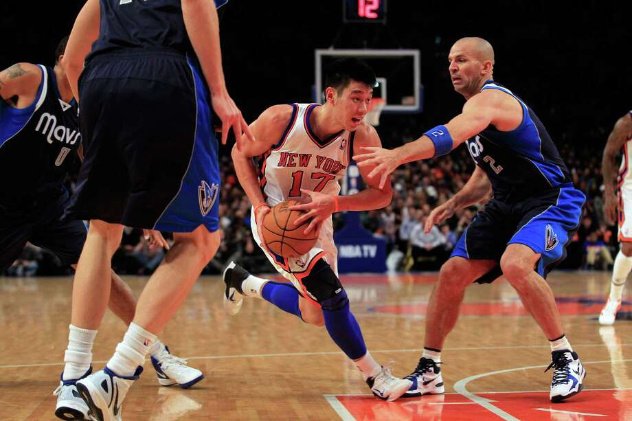 Feb. 19: Knicks 104, Mavericks 97  38 points, 14 assists  Scores 14 points in final 15 minutes for win Photo: Chris Trotman, Getty Images / 2012 Getty Images