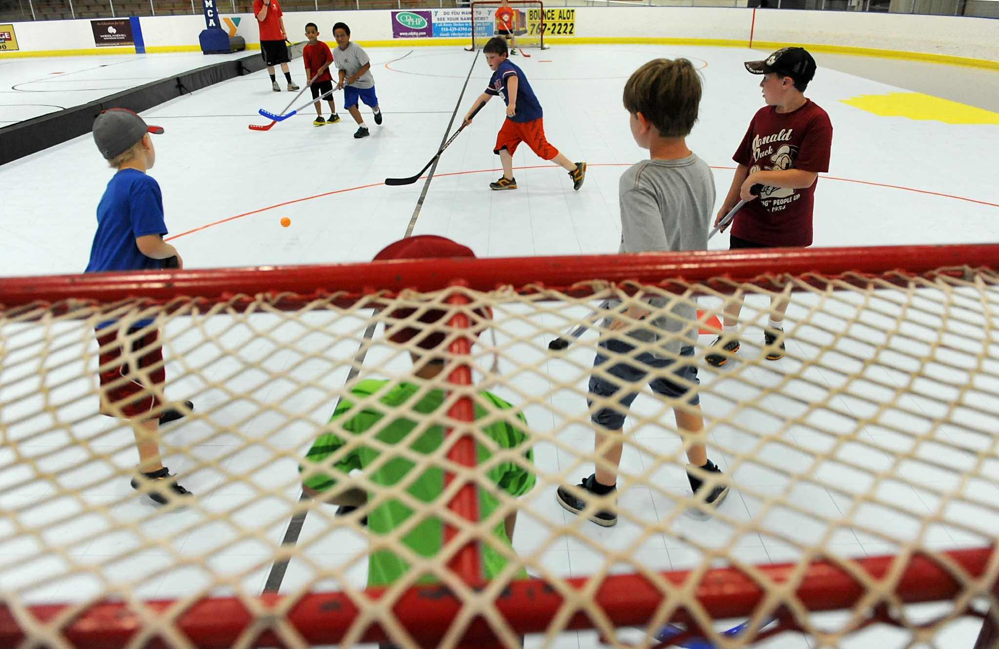 New Floor Gives Added Life To Bethlehem Ymca Rink Times