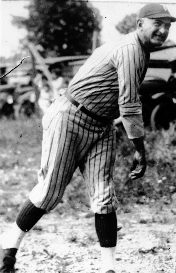 "Sports scandals go back more than a century. Joseph ""Shoeless Joe"" Jackson is shown in action during his heyday in an undated photo. He was one of the key figures in the infamous ""Black Sox"" scandal, which rocked baseball and caused the introduction of a baseball commissioner. He ended his 14 seasons in the majors with a lifetime batting average of .356 and was an outfielder. He played in the majors from 1908 to 1920. Photo: AP / AP"