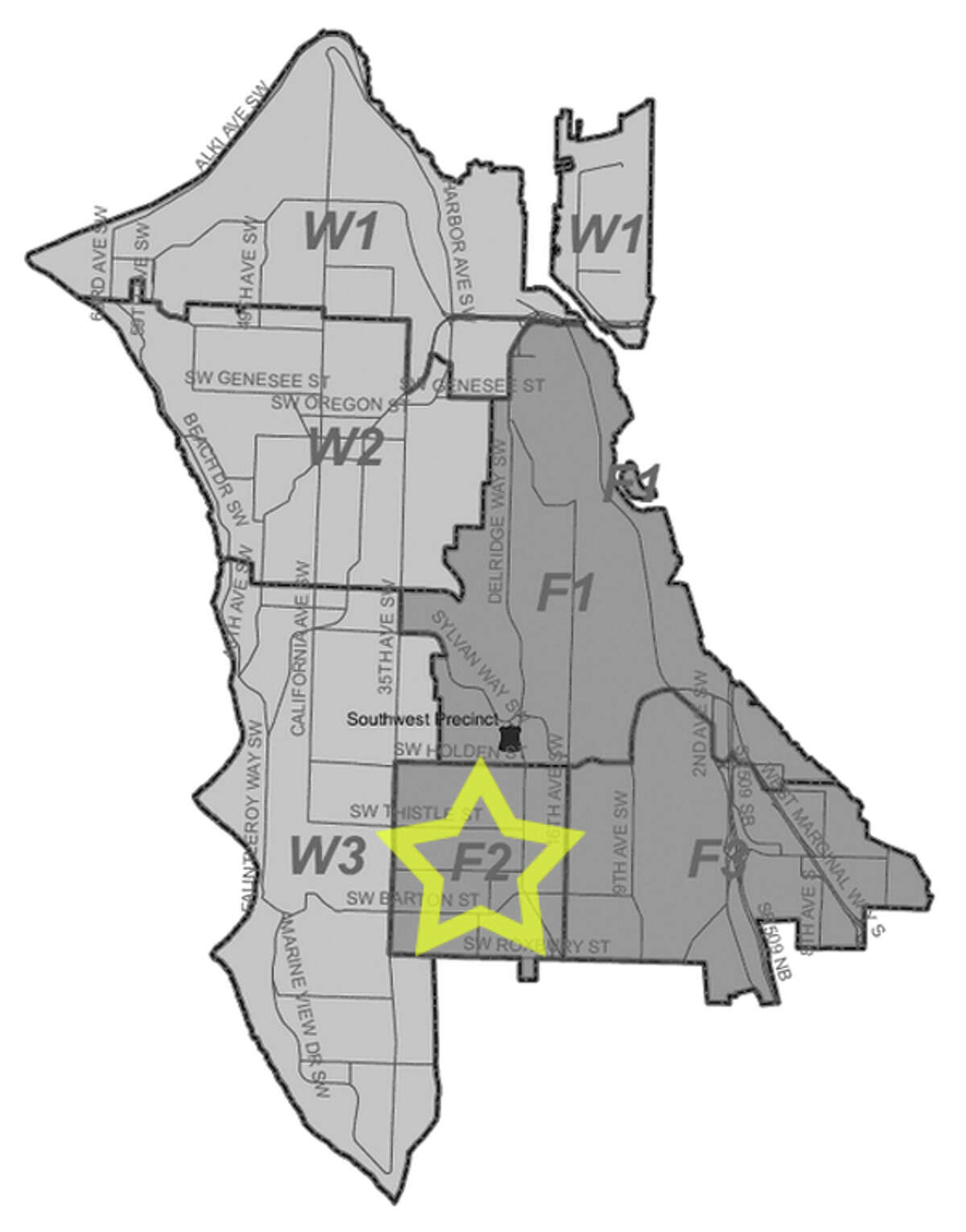 50. F2: Seattle police in this Delridge area beat have responded to 7 reports of stolen bicycles in the past three years.