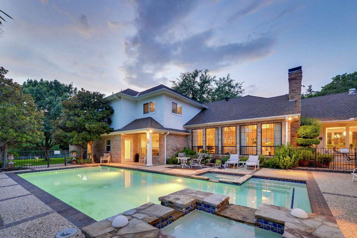 This July 15, 2013 photo, courtesy of Rogers Healy and Associates Real Estate shows the rear of the home featured as Texas Ranger Cordell Walker's house from the former television series