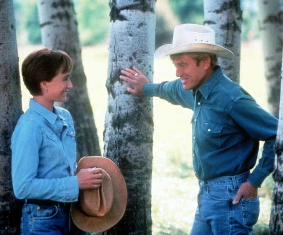 Kirstin Scott Thomas and Robert Redford in