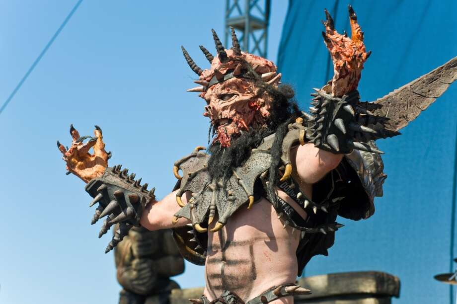 GWAR is an over-the top heavy metal band known for its outrageous costumes and themes. Photo: Timothy Hiatt, Getty Images