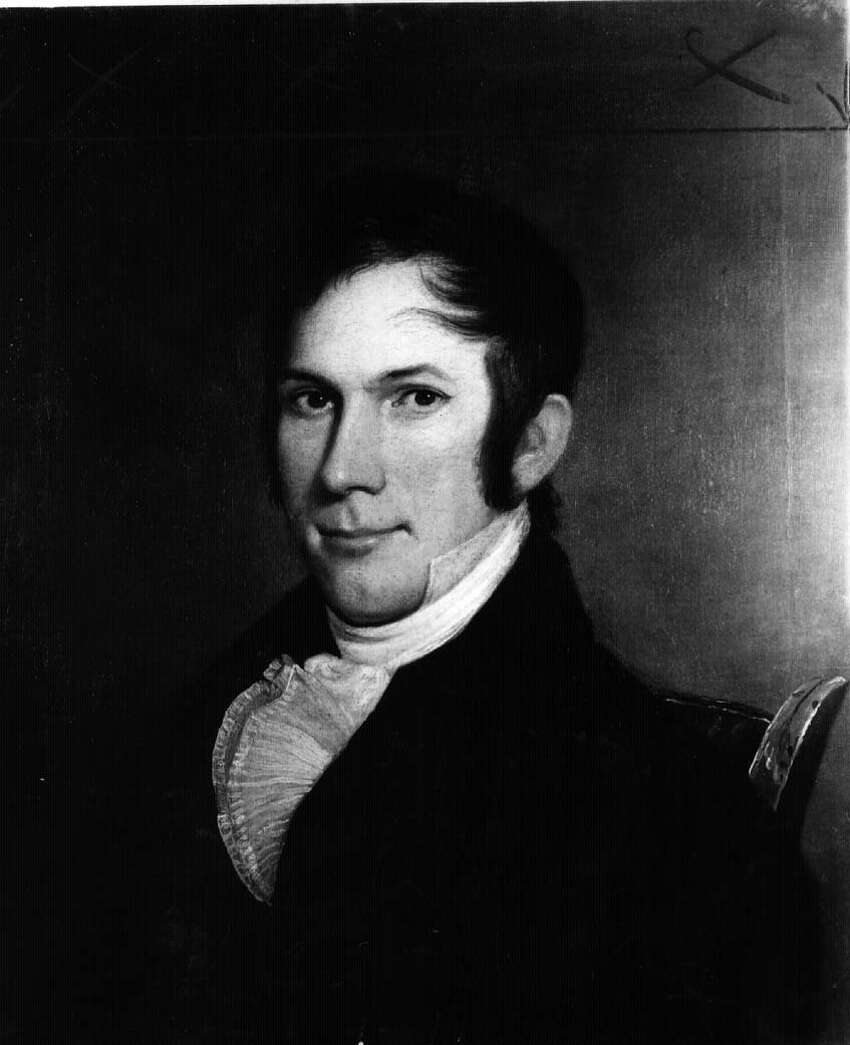 Henry Clay. Portrait by Charles Peale.