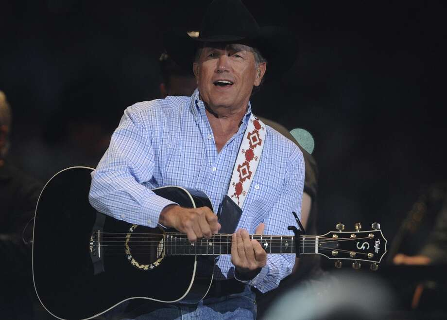 And as Prince Charles showed the world many years ago when he was dumped by his horse, British royals just can't ride away like San Antonio country music legend George Strait.