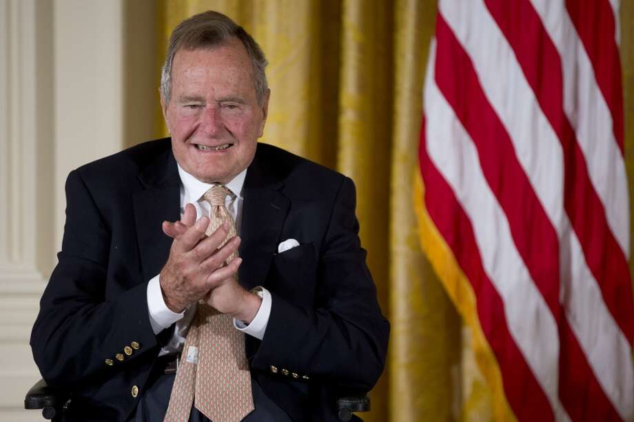 Former President George H. W. Bush lives in Texas. 'Nuff said.