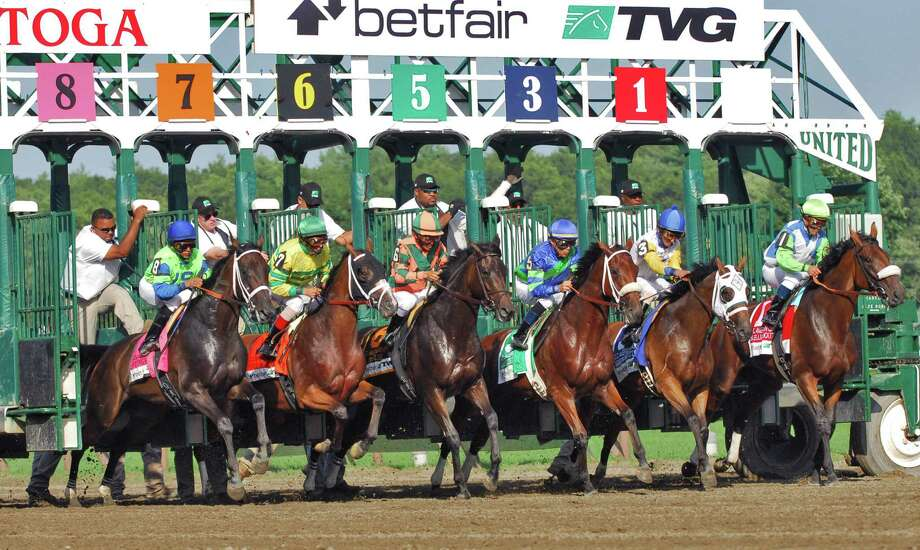 122. The first time a movable starting gate was seen at the Spa was 1940. (John Carl D'Annibale / Times Union) Photo: John Carl D'Annibale / 00009594A