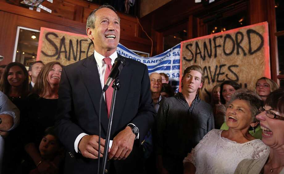 Former South Carolina Gov. Mark Sanford won the special election for a congressional seat in May 7. Across the country, politicians like Sanford, tainted by scandal, are winning elections. Photo: Chris Aluka Berry / New York Times