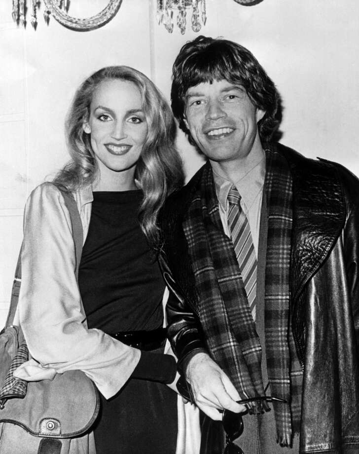 Mick Jagger and Texas model Jerry Hall in 1978. Photo: Keystone-France, Gamma-Keystone Via Getty Images