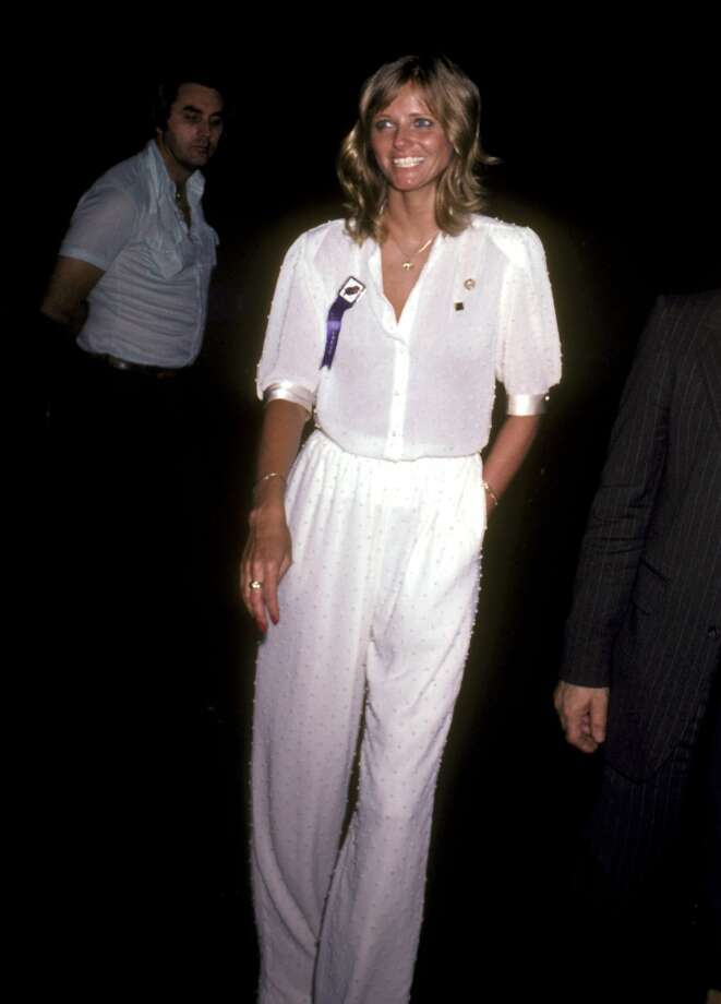 Cheryl Tiegs at a party to honor Jimmy Carter in 1980. Photo: Ron Galella, WireImage
