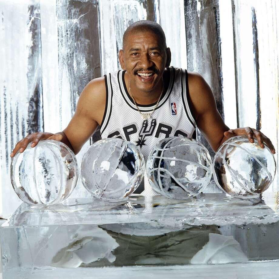 "He could never be as cool as San Antonio Spurs legend George ""The Ice Man"" Gervin."