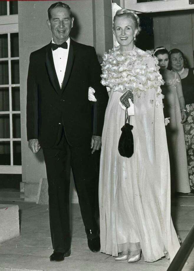 "C. V. ""Sonny"" Whitney and Marylou Whitney, July 11, 1966. (Times union Archive)"
