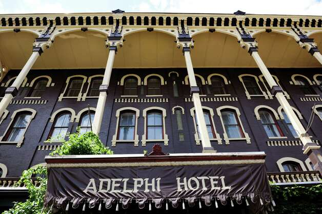 Adelphi Hotel on Wednesday, July 3, 2013, in Saratoga Springs, N.Y. (Cindy Schultz / Times Union) Photo: Cindy Schultz / 00023036A
