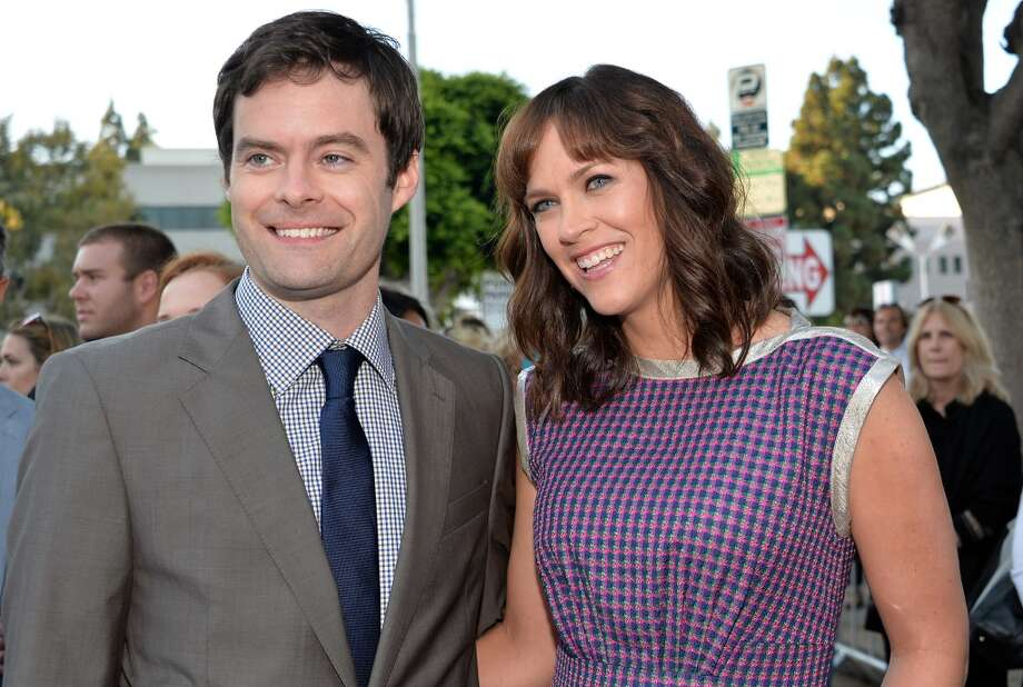 "Actor Bill Hader (L) and Writer/director Maggie Carey attend the premiere of CBS Films' ""The To Do List"" on July 23, 2013 in Westwood, California.  (Photo by Alberto E. Rodriguez/Getty Images) Photo: Alberto E. Rodriguez, Getty Images"