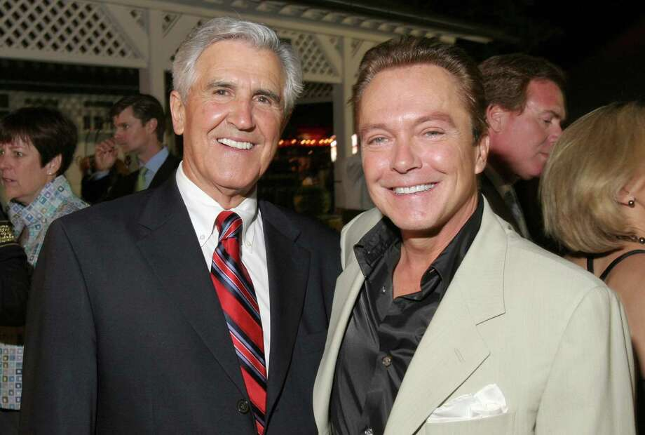 In this 2006 archive photo, state Senate Majority Leader Joe Bruno, left,  is shwn with David Cassidy at the Travers Celebration in Saratoga Springs. (Times Union archive) Photo: Joe Putrock / Joe Putrock/Special to the Times Union