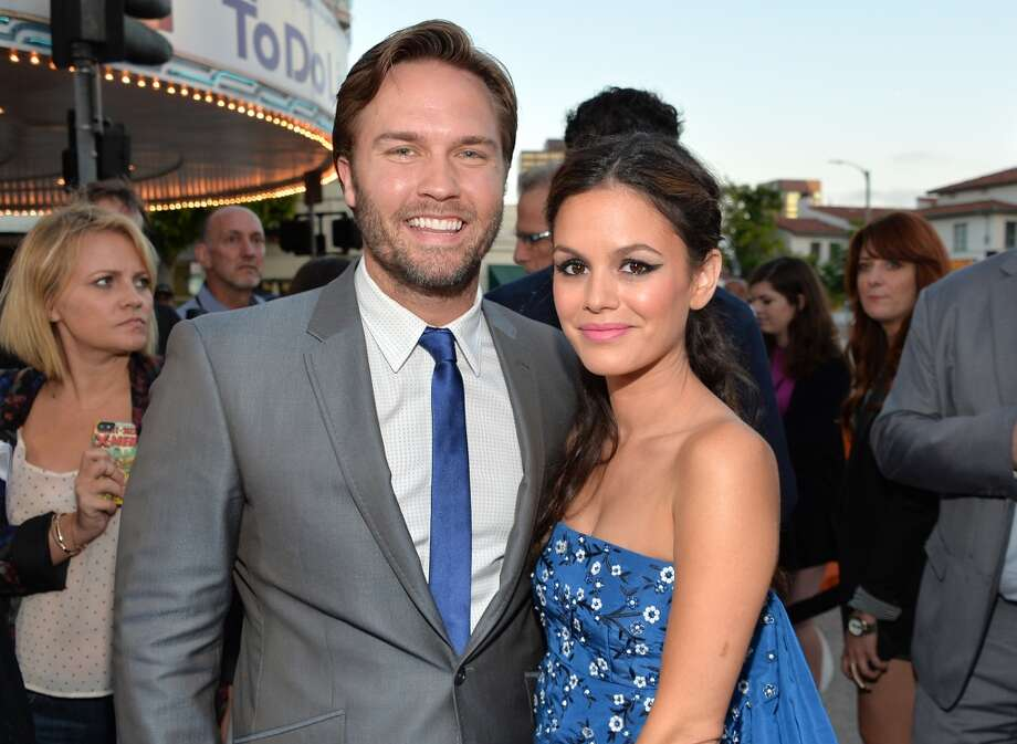 """Actors Scott Porter (L) and Rachel Bilson attend the premiere of CBS Films' """"The To Do List"""" on July 23, 2013 in Westwood, California.  (Photo by Alberto E. Rodriguez/Getty Images) Photo: Alberto E. Rodriguez, Getty Images"""
