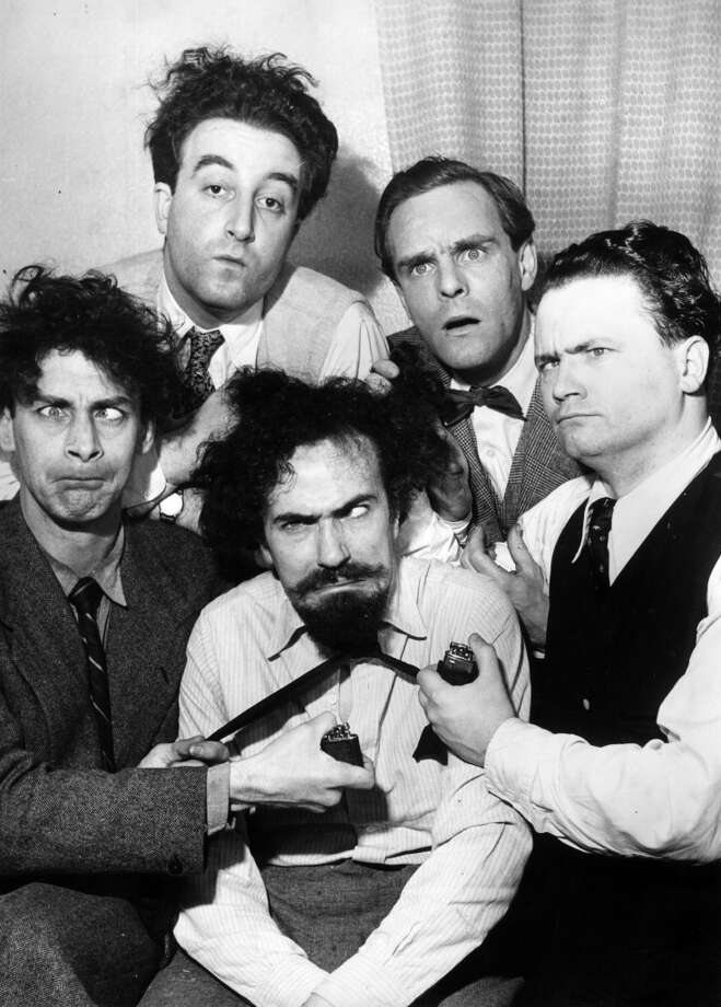 The 1950s British radio show The Goons included humorous musical numbers. Photo: Chris Ware, Getty Images