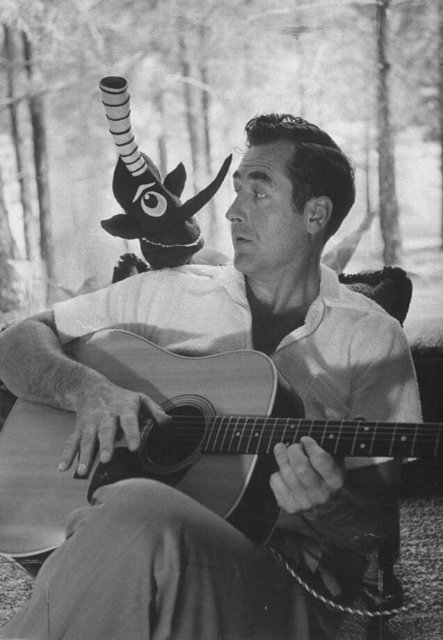 "1950s songwriter Sheb Wooley was the creator of ""The Purple People Eater."" Photo: Bill Bridges, Time & Life Pictures/Getty Image"