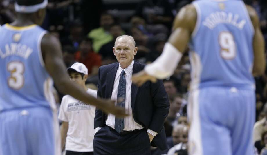 George Karl has won 1,887 games as an ABA and NBA head coach. Long ago, he played for the Spurs in the HemisFair Arena days.