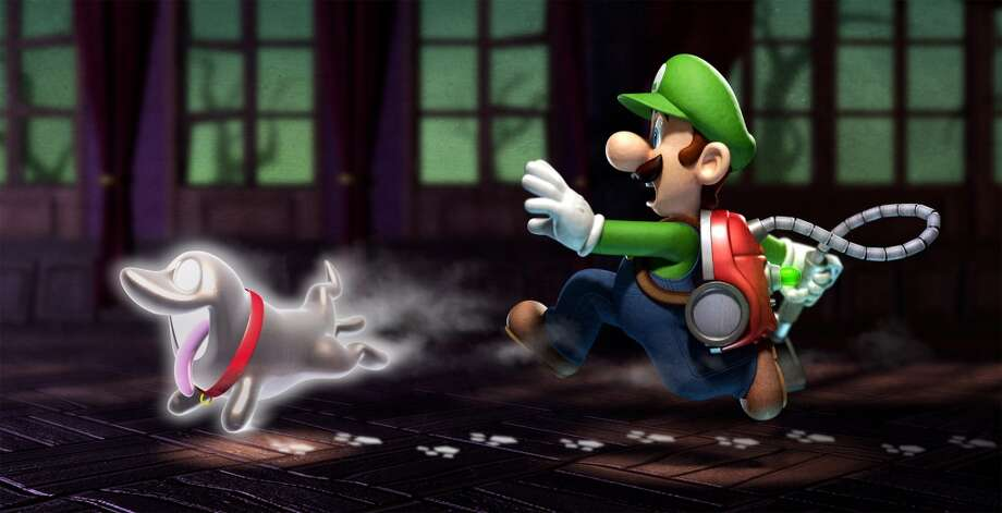 No. 10: Luigi's Mansion: Dark Moon Nintendo 3DS Nintendo Action-adventure Weekly units sold: 12,170 Total units sold: 765,967 Number of weeks available: 16 Photo: Nintendo