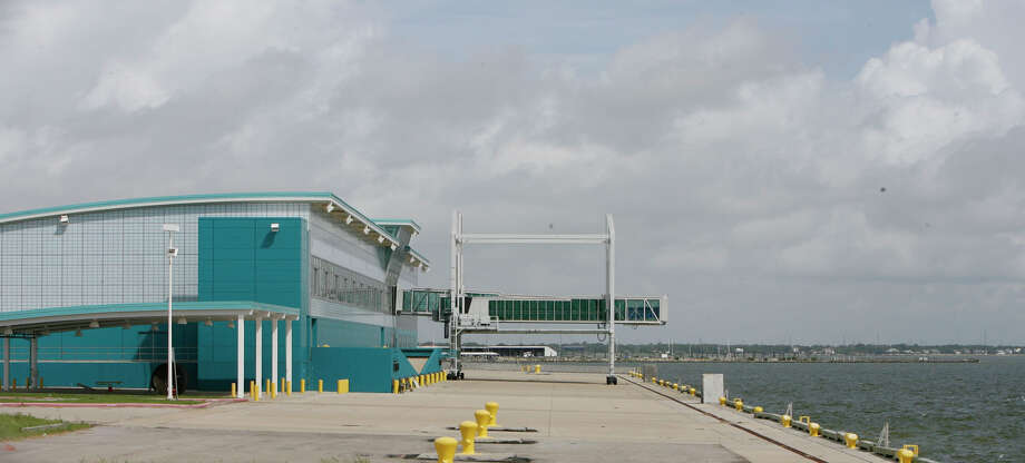 The Port of Houston Authority's Bayport Cruise Terminal sat idle for years. ( Julio Cortez / Chronicle ) Photo: Julio Cortez, Staff / Houston Chronicle