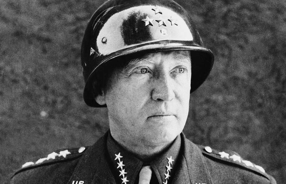 George S. Patton, who gained fame as a general in World War II, set a high standard for leadership by a George. Photo: Associated Press / AP1945