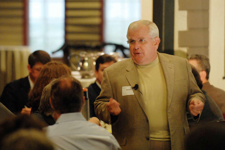 TIMES UNION STAFF PHOTO BY SKIP DICKSTEIN - Dennis Dammerman, retired on December 31, 2005 as vice chairman of the board and executive officer of General Electric Company and director, chairman and chief executive officer of GE Capital Services spoke to the Saratoga County Chamber of Commerce at Longfellows Restaurant in Saratoga Springs, New York October 18, 2007. Photo: SKIP DICKSTEIN / ALBANY TIMES UNION