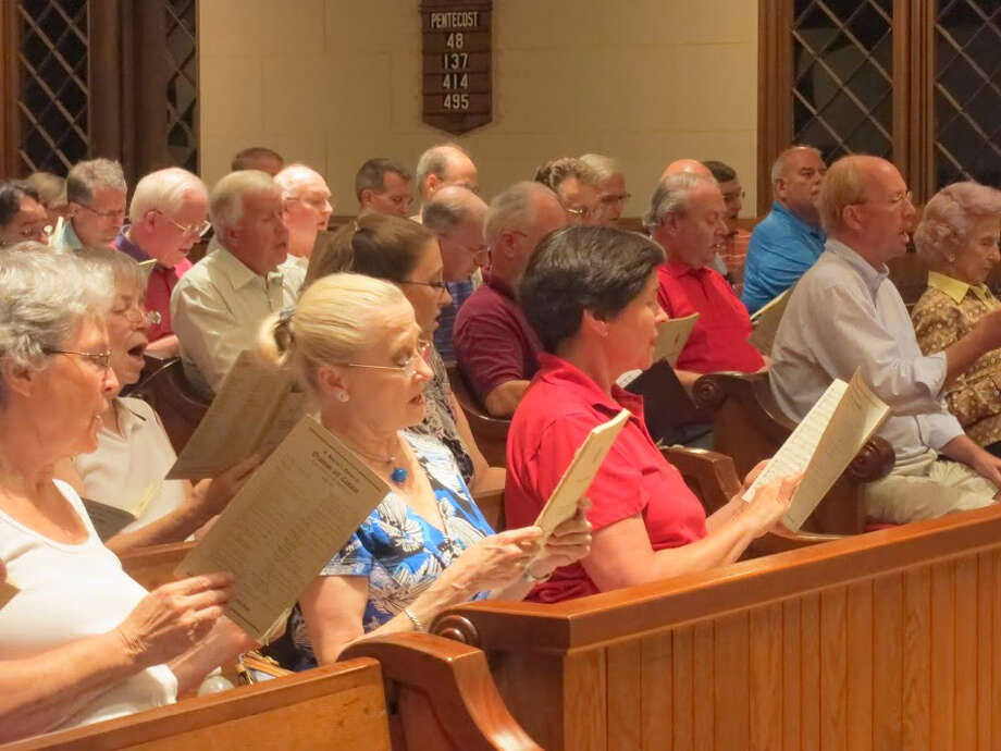 The Fairfield County Chorale's annual Summer Sings takes place every Monday night in August at Trinity Episcopal Church in Fairfield's Southport section. Photo: Contributed Photo