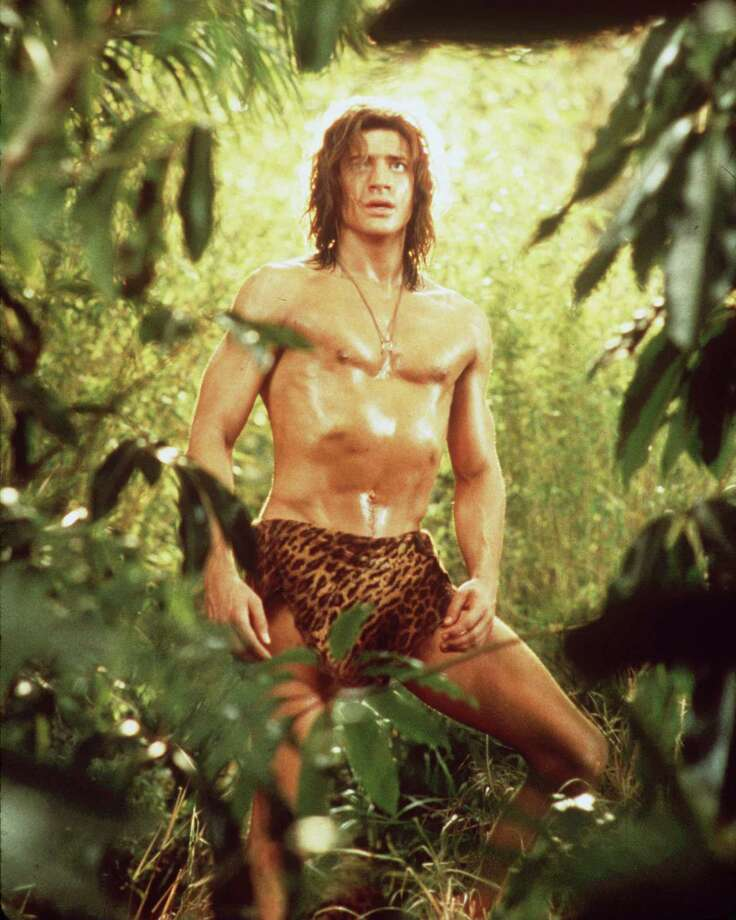 Brendan Fraser was a swingin' George in 1997's 'George of the Jungle.' Photo: Getty Images, Hulton Archive / Getty Images / Hulton Archive