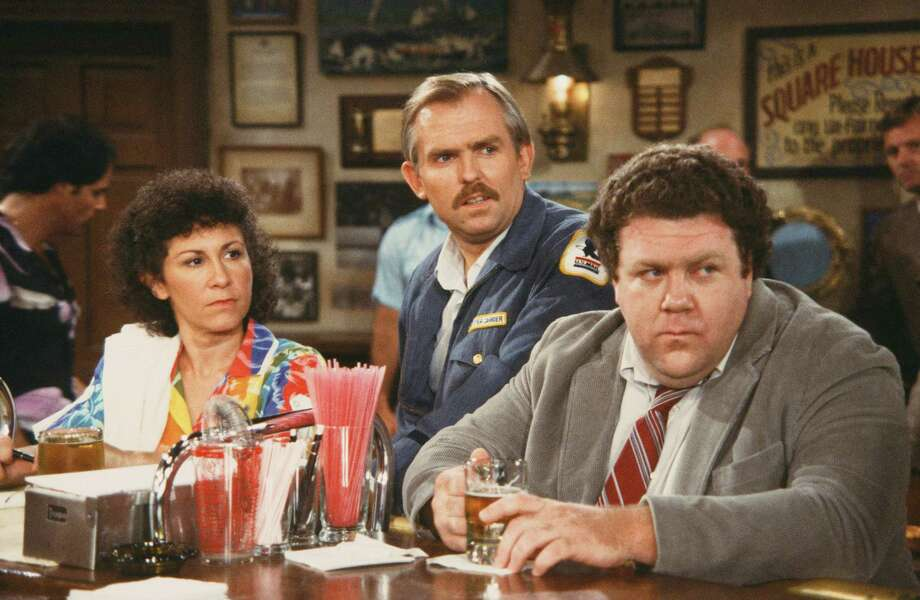 "John Ratzenberger was so uncool as postal worker Cliff Clavin in ""Cheers,"" it sort of makes him cool. He's a Bridgeport native. Photo: NBC/NBCU Photo Bank Via Getty Images / © NBC Universal, Inc."