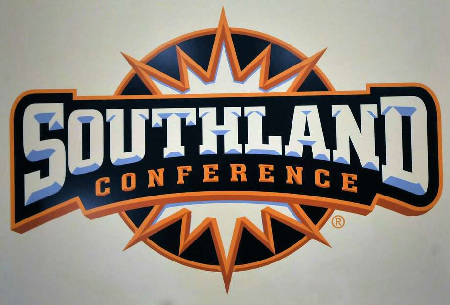 The Southland Conference Media Day took place at the L'auberge Casino Resort in Lake Charles Louisiana Wednesday July 24, 2013. Lamar football coach Ray Woodard presented two of his players, defensive linemen Jesse Dickson and Mark Murrill to all the media that covers the conference. They spent the better part of the afternoon doing television interviews and meeting with all the reporters in attendance.  Dave Ryan/The Enterprise