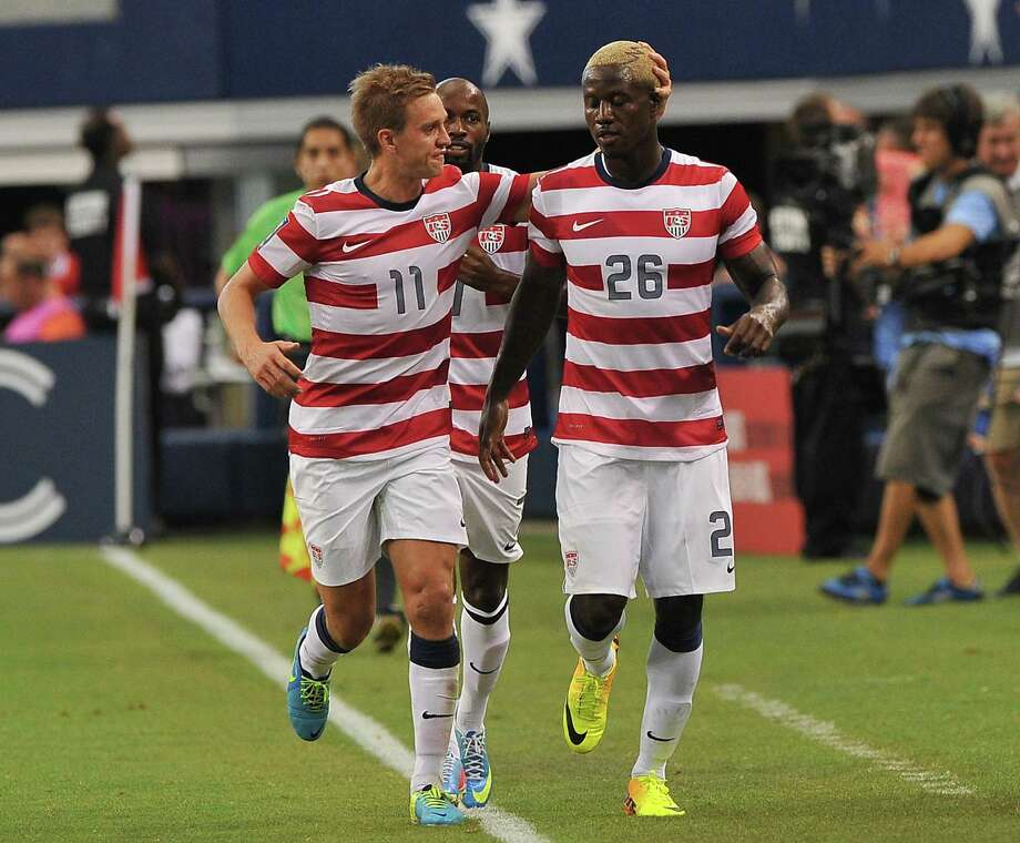 PHOTOS: The big names you will see at KickInForHouston on SaturdayFormer U.S. national team players Stuart Holden (11) and Eddie Johnson (26) are scheduled to participate in KickInForHouston on Saturday night at BBVA Compass Stadium. The charity event will feature some big names in soccer and other sports. Its goal is to raise $500,000 for victims of Hurricane Harvey.Browsethrough the photos above to see some of the biggest names expected to participate. Photo: NICHOLAS KAMM, AFP/Getty Images / AFP