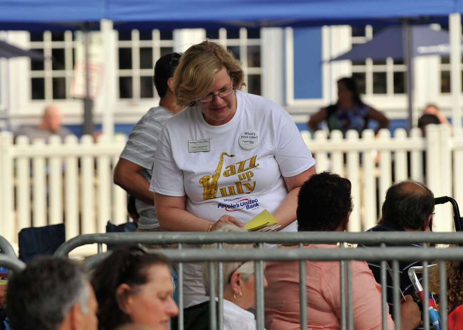 Scenes from the Jazz Up July at Columbus Park in Stamford on Wednesday, July 24, 2013. Hearst Connecticut Newspapers are a sponsor of the event. Hearst Connecticut Newspapers are a sponsor of the event. Photo: Jason Rearick / Stamford Advocate