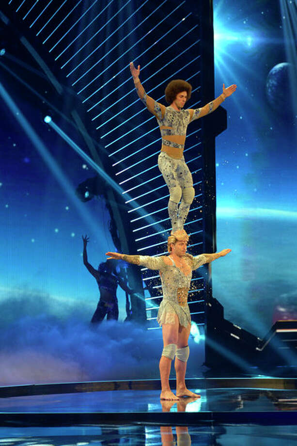 AMERICA'S GOT TALENT -- Episode 810 -- Pictured: KriStef Brothers -- (Photo by: Virginia Sherwood/NBC) Photo: NBC, Virginia Sherwood/NBC / 2013 NBCUniversal Media, LLC