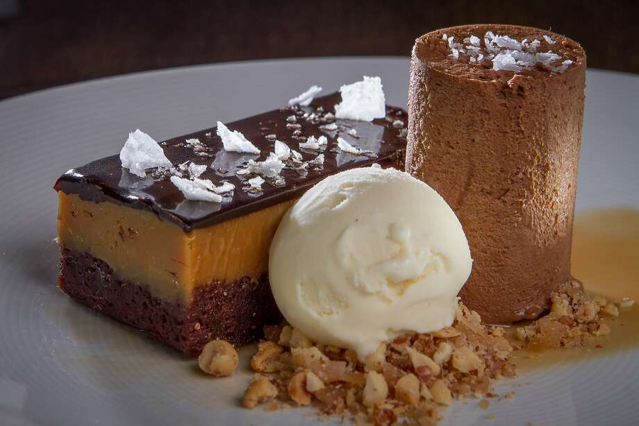 The Candy Bar dessert at Chalkboard in Healdsburg. Photo: John Storey, Special To The Chronicle