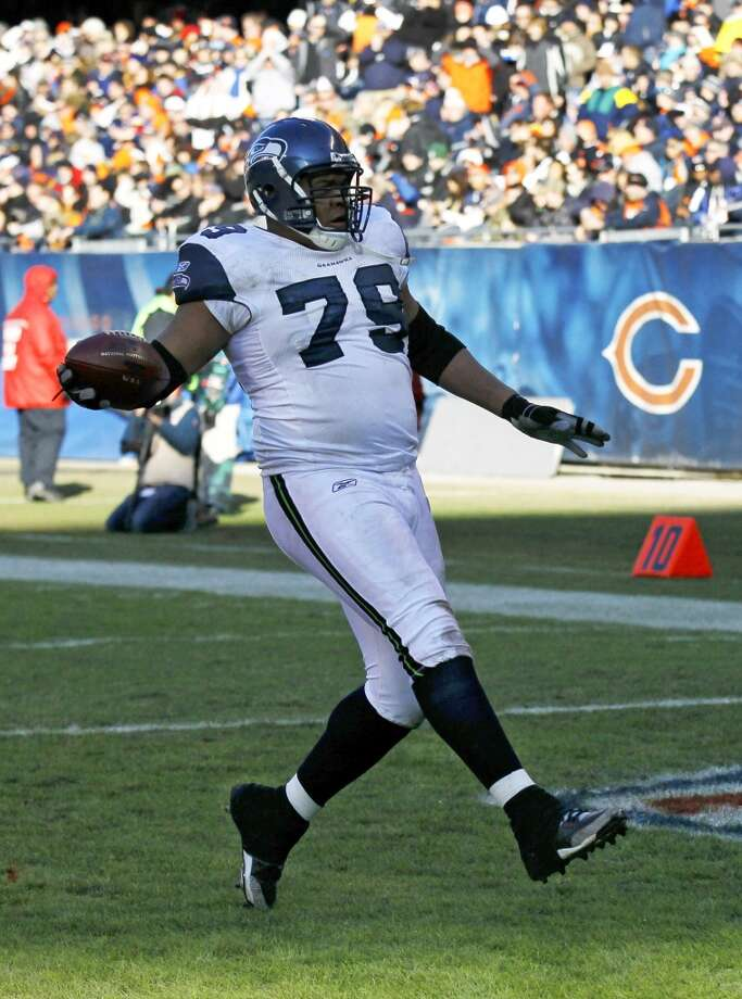 Red Bryant, DL, Seattle Seahawks Photo: Charles Rex Arbogast, Associated Press