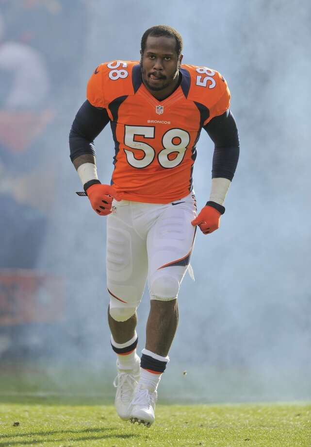 Von Miller, LB, Denver Broncos Photo: Jack Dempsey, Associated Press
