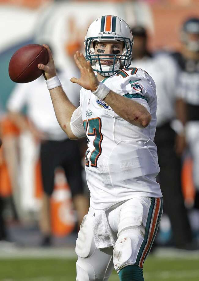 Ryan Tannehill, QB, Miami Dolphins Photo: Wilfredo Lee, Associated Press