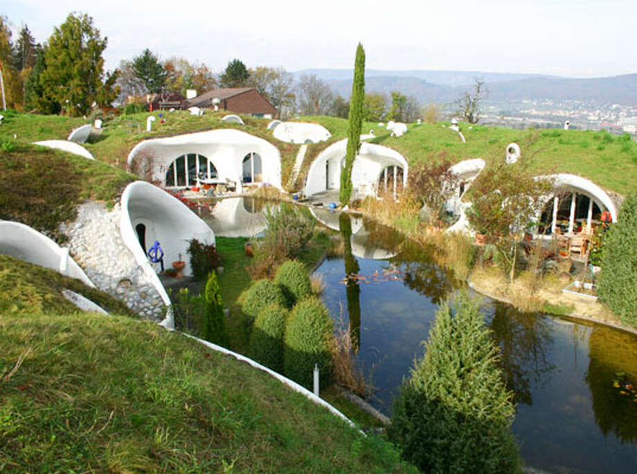 Lattenstrasse underground home, via Inhabitat. http://inhabitat.com/6-fascinating-underground-homes-that-go-above-and-beyond/underground-home-vals-switzerland-mountain-house-2-2/?extend=1